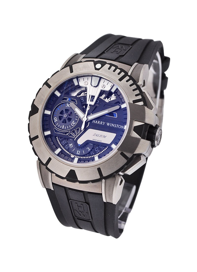 Harry Winston Ocean Sport Chronograph in Zalium - Limited Edition 300pcs