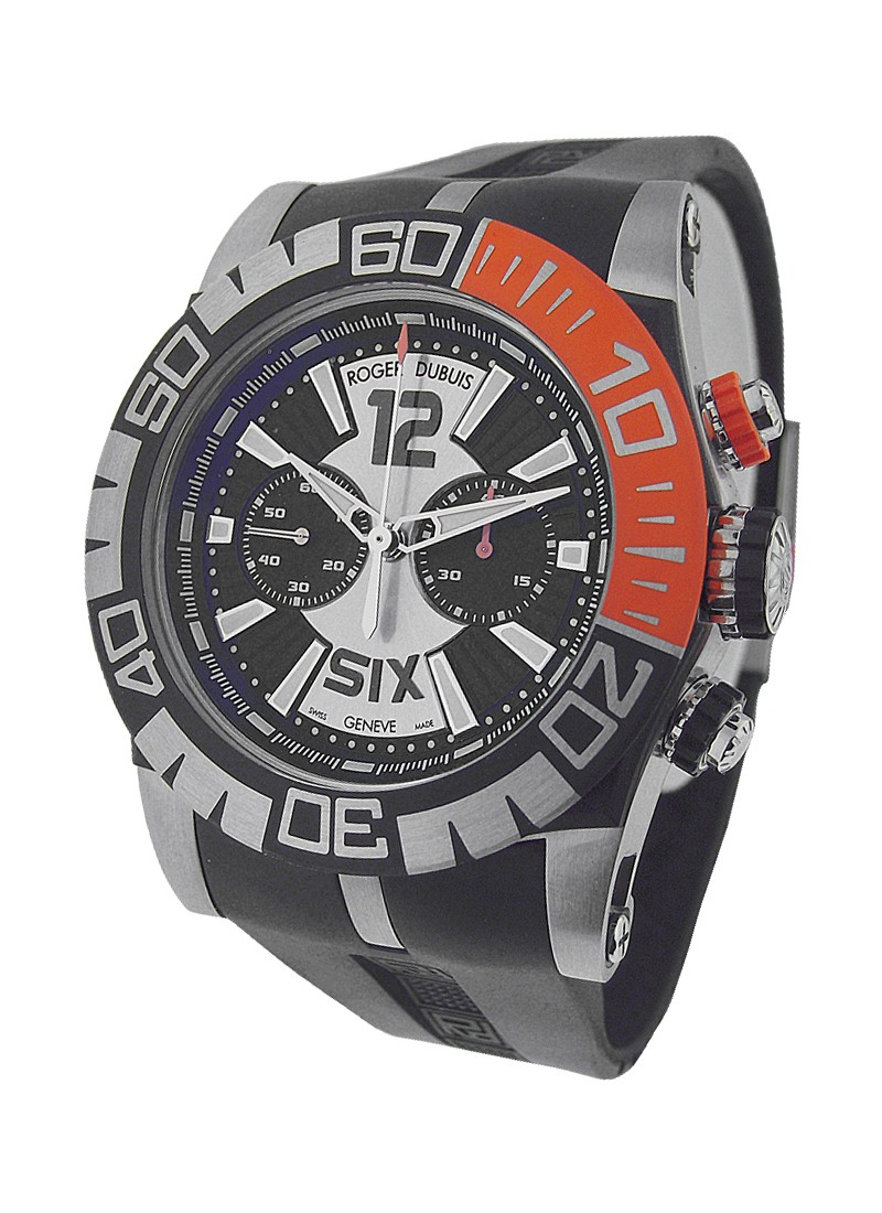 Roger Dubuis Easy Diver Chronograph 46mm in Steel