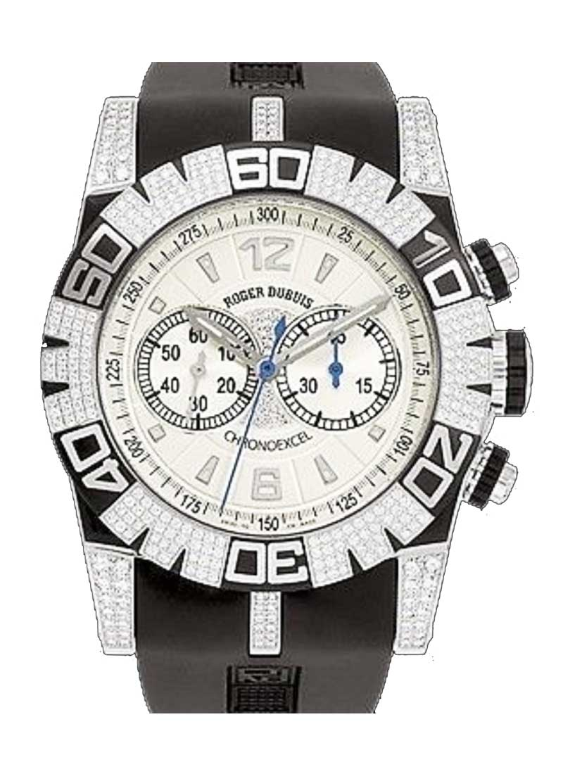Roger Dubuis Easy Diver 46mm in Steel with Diamond Bezel - Limited Edition 88 pcs.