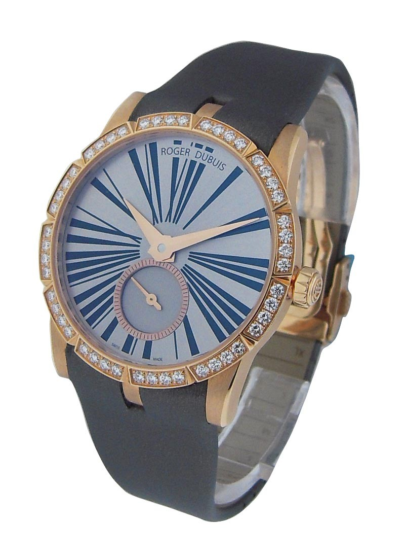 Roger Dubuis Excalibur 36mm Automatic in Rose Gold with Diamond Bezel