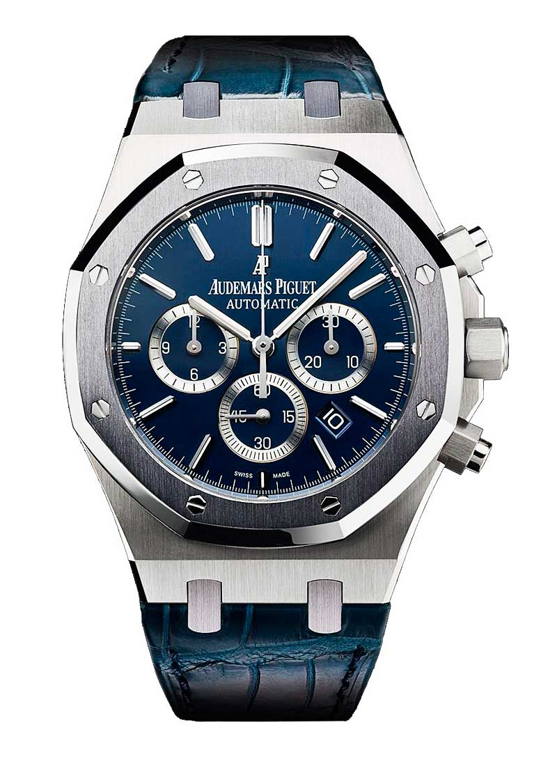 Audemars Piguet Royal Oak Chronograph in Platinum Case with Tantalum Bezel- Leo Messi Special Limited Edition