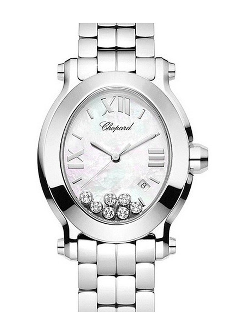 Chopard Happy Sport Oval in Steel