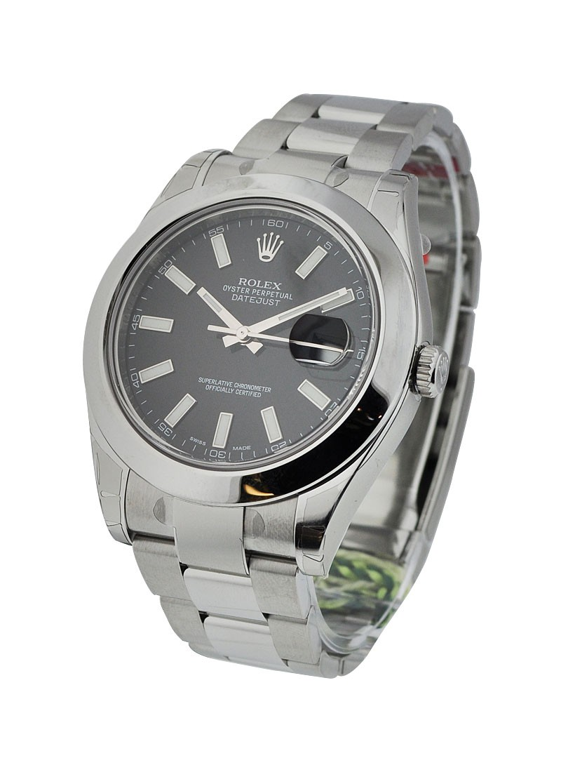 Rolex Unworn Datejust II 41mm in Steel with Smooth Bezel