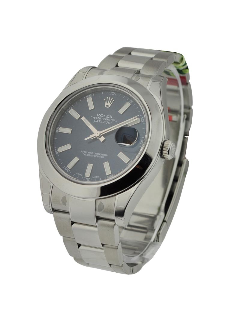 Rolex Unworn Datejust II 41mm Automatic in Steel   Smooth Bezel