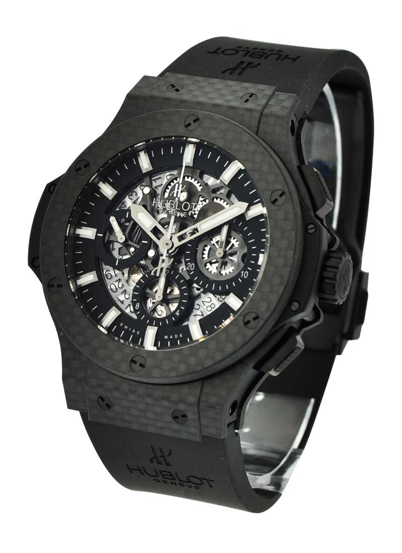 Hublot Big Bang 44mm Aero Bang Carbon in Black carbon fiber
