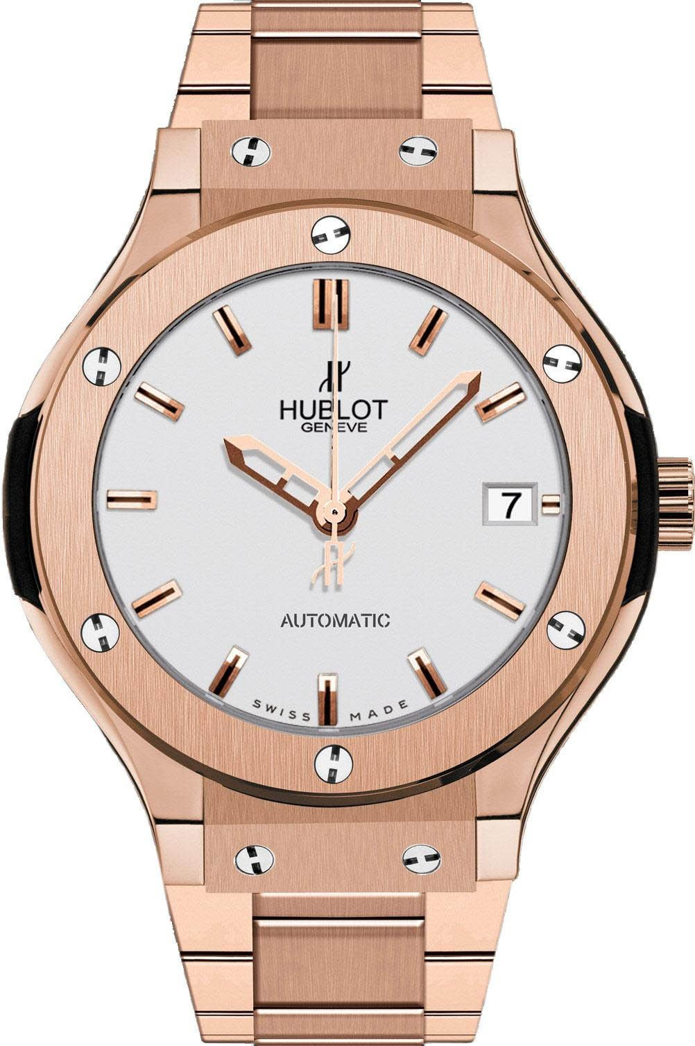 Hublot Classic Fusion 38mm in Rose Gold