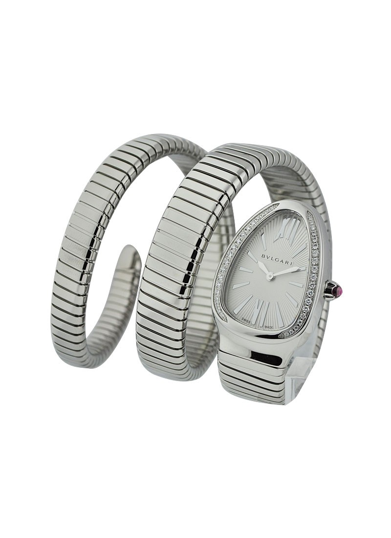Bvlgari Serpenti Ladies with Diamond Bezel