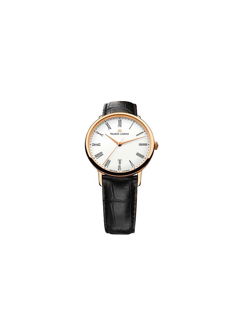 Maurice Lacroix Les Classiques Tradition with Rose Gold Bezel