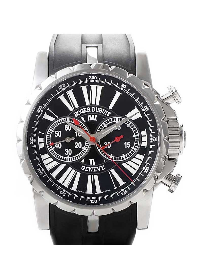 Roger Dubuis Excalibur Automatic Chronograph in Steel Limited Edition 280pcs.