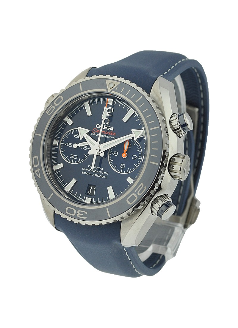 Omega Planet Ocean Chronograph in Titanium