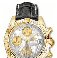 Breitling Chrono Cockpit with Automatic in Yellow Gold