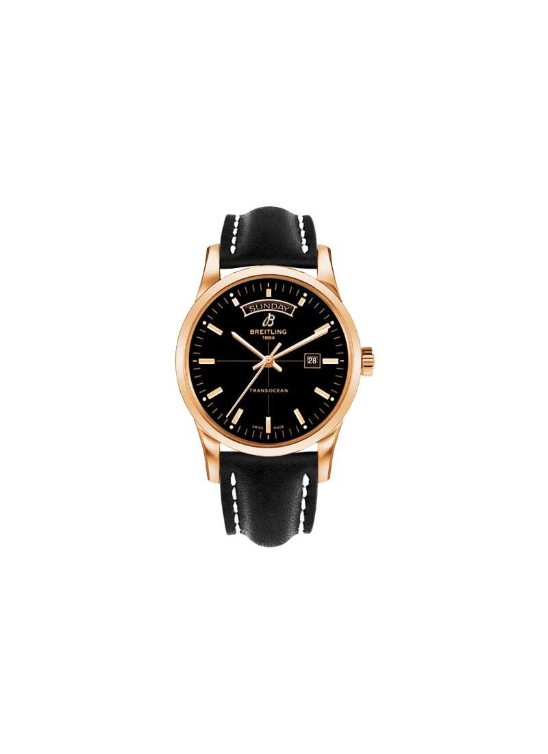 Breitling Transocean Day-Date Series Automatic in Rose Gold