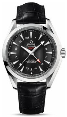 Omega Seamaster Aqua Terra 43mm GMT in Steel
