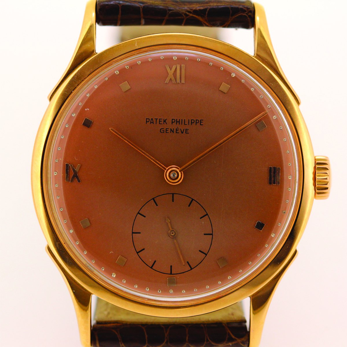 Patek Philippe Vintage Calatrava 1589 in Rose Gold - Circa 1954