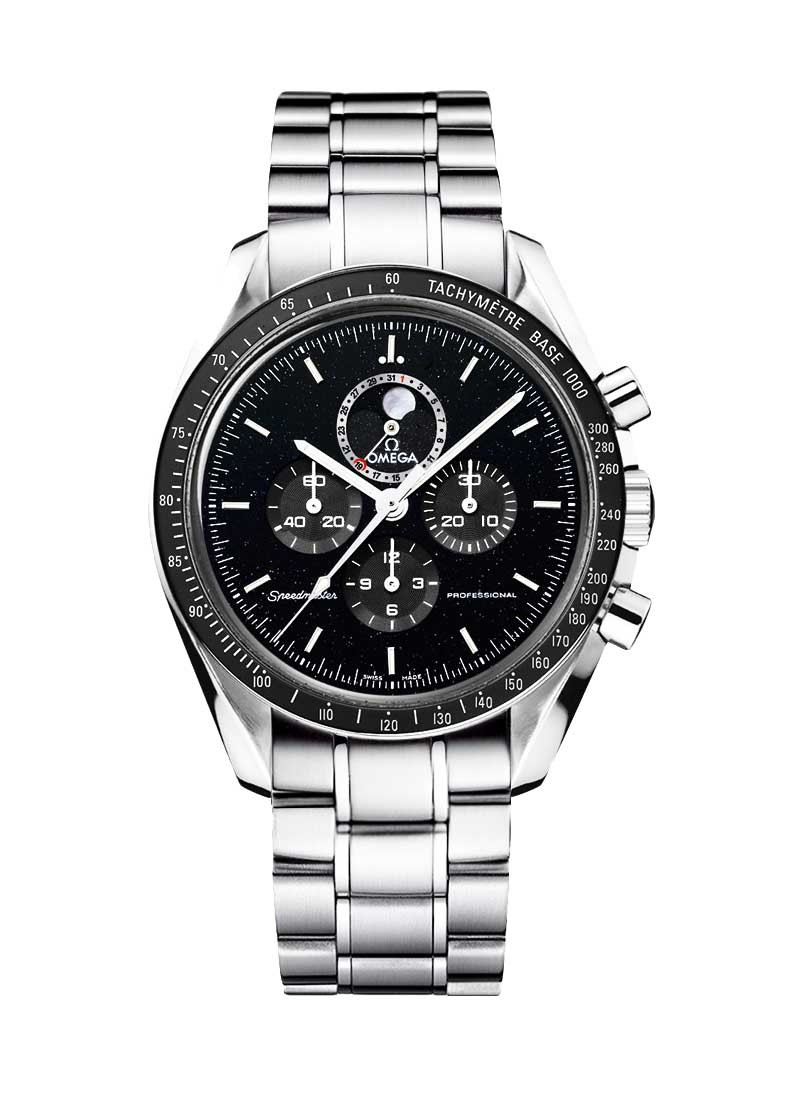 Omega Speedmaster Co-Axial Chronometer in Steel with Ceramic Bezel