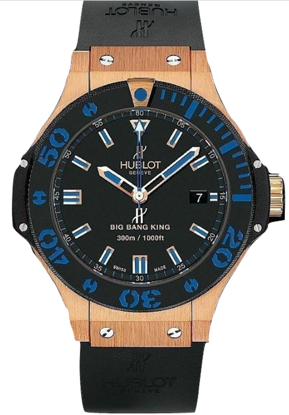Hublot Big Bang King 44mm in Rose Gold with Ceramic Bezel