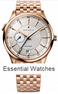 Zenith Captain Dual Time 40mm in Rose Gold