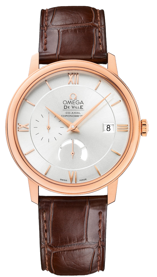 Omega De Ville Prestige Power Reserve in Rose Gold