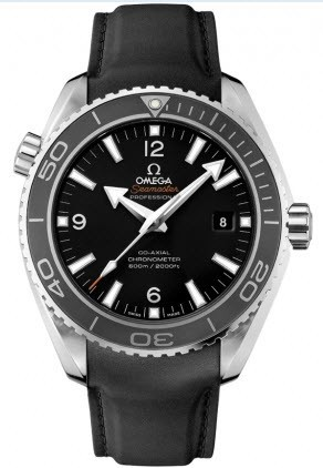 Omega Seamaster Planet Ocean Big Size Automatic in Steel with Grey Bezel
