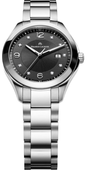 Maurice Lacroix Miros Series Round Men''s Quartz in Steel