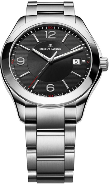 Maurice Lacroix Miros Series Date Round Men''s Quartz in Steel