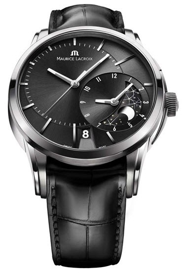 Maurice Lacroix Pontos Decentrique GMT Men's Automatic in Steel