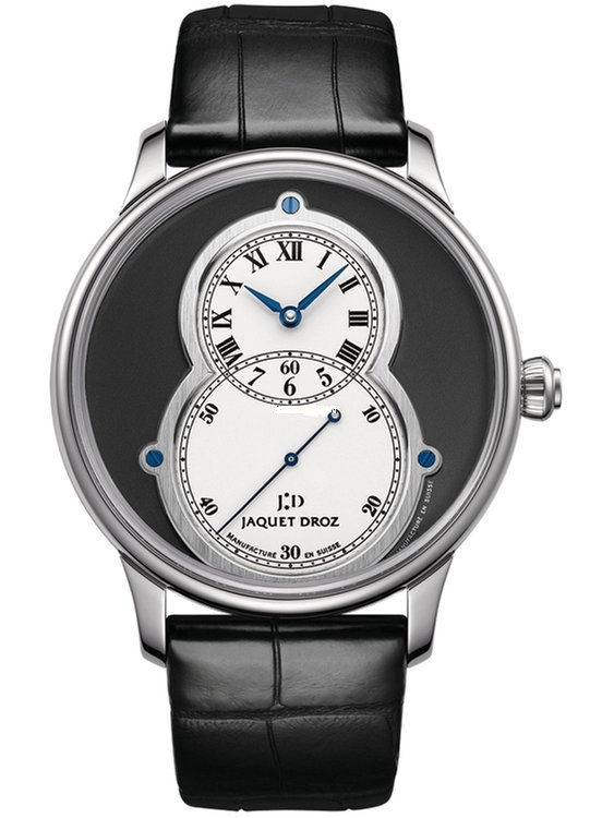 Jaquet Droz Grande Seconde Circled Slate in White Gold