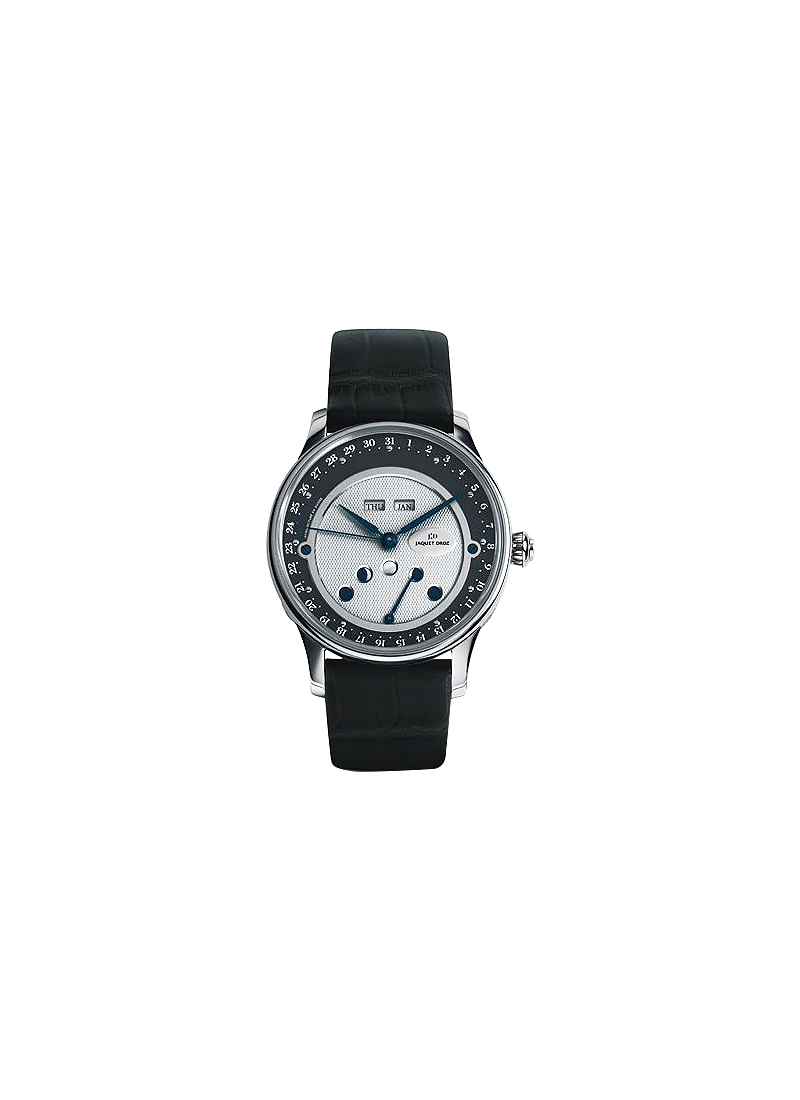 Jaquet Droz Les Lunes Cerclee in White Gold