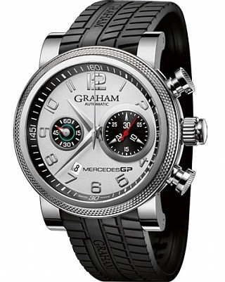 Graham Graham Mercedes GP Trackmaster Automatic in Steel