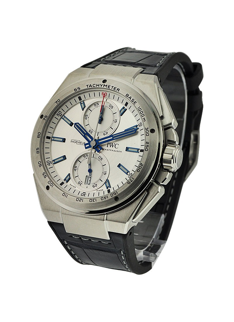 IWC Ingenieur Chronograph Racer in Steel
