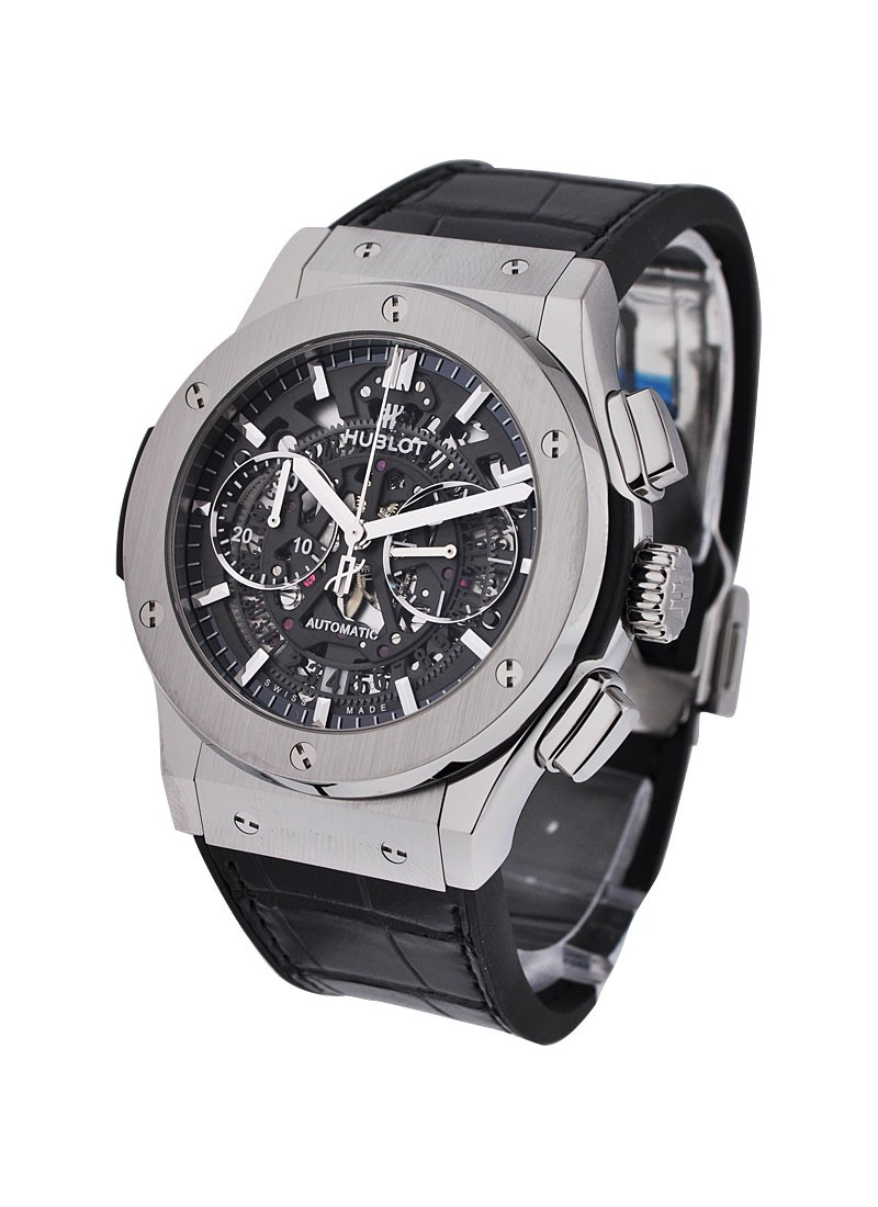 Hublot  Classic Fusion 45mm Chronograph in Titanium