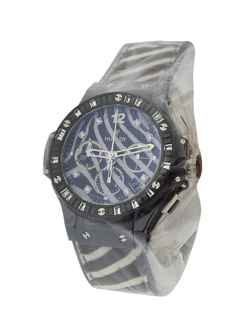 Hublot Big Bang White Zebra Bang Men's Automatic in Ceramic