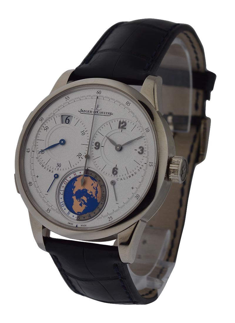 Jaeger - LeCoultre Duometre Unique Travel Time 42mm in White Gold