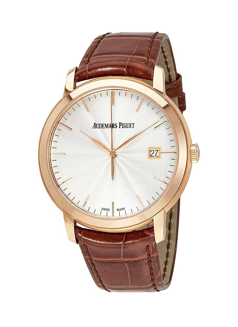 Audemars Piguet Jules Audemars 39mm Automatic in Rose Gold