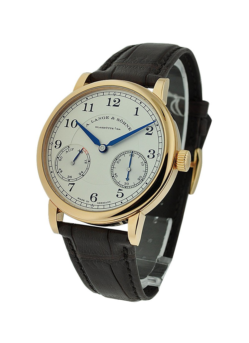 A. Lange & Sohne 1815 Up and Down Mens Manual in Rose Gold