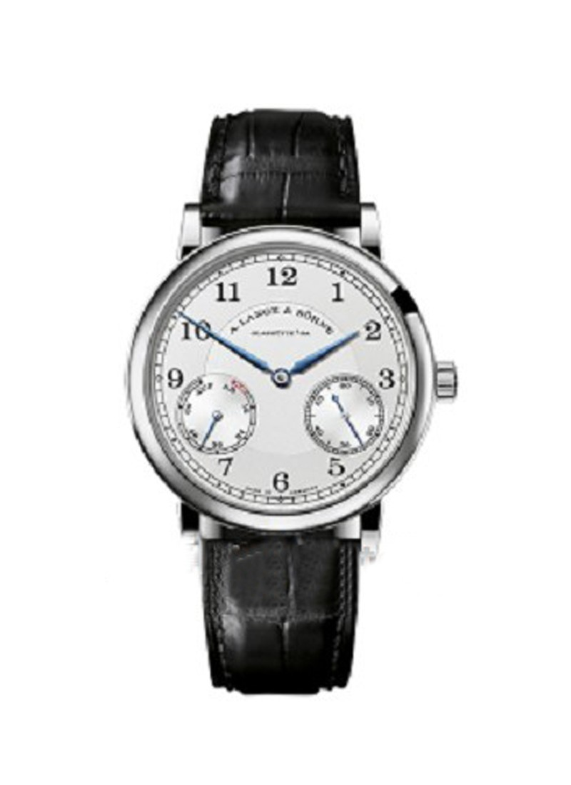 A. Lange & Sohne 1815 Up and Down Mens Manual in White Gold