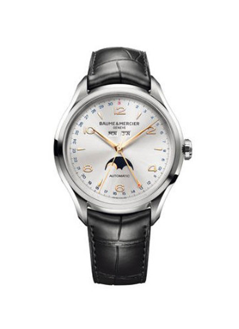 Baume & Mercier Clifton Moonphase 43mm in Steel