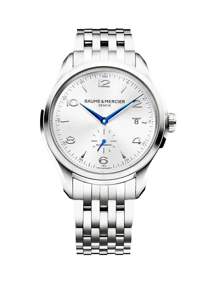 Baume & Mercier Clifton Small Seconds 41mm in Steel
