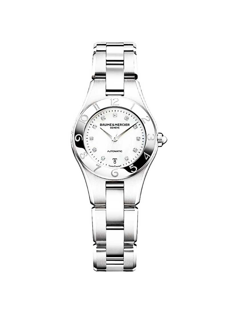 Baume & Mercier Linea Ladies Automatic in Steel