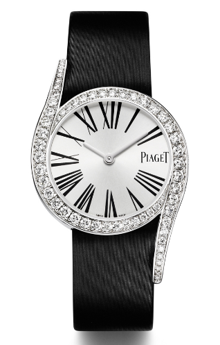 Piaget Limelight Gala in White Gold with Diamond Bezel