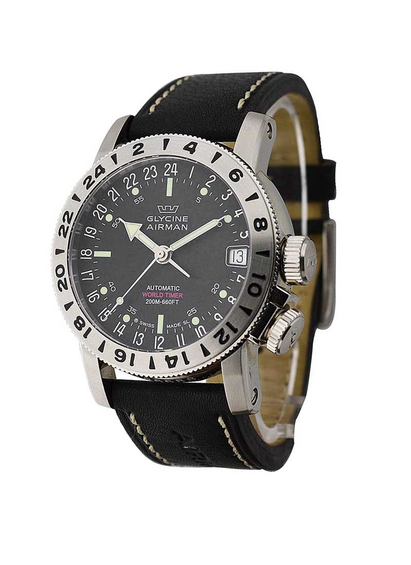 Glycine Airman 18 Men's Automatic in Steel