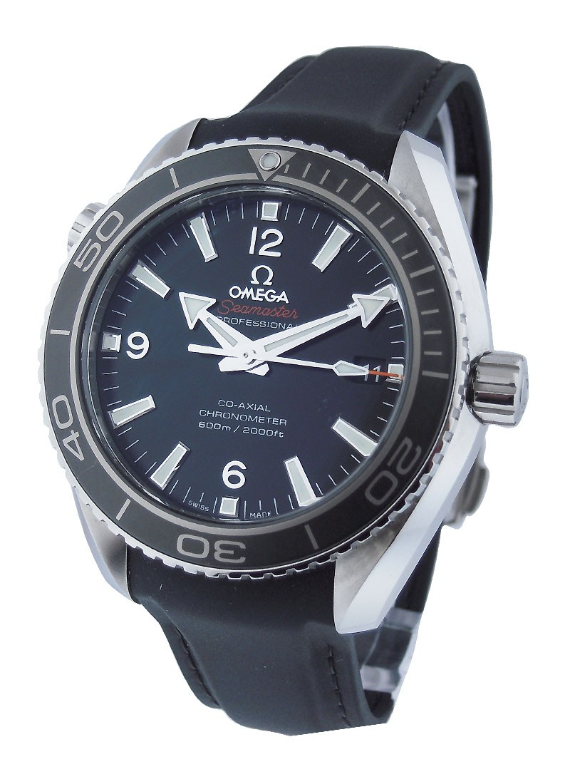 Omega Seamaster Planet Ocean in Steel with Gray Bezel