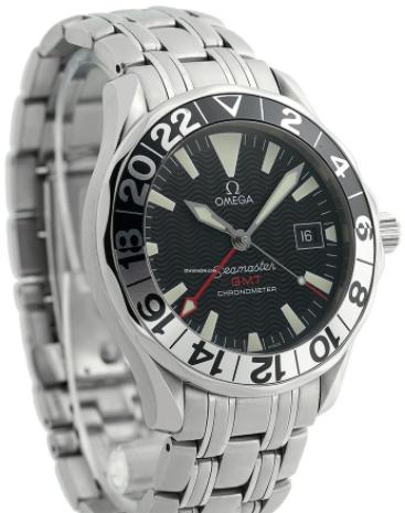 Omega Seamaster 300m GMT men's Automatic in Steel