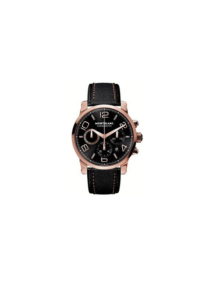 Montblanc Timewalker Automatic Chronograph in Rose Gold