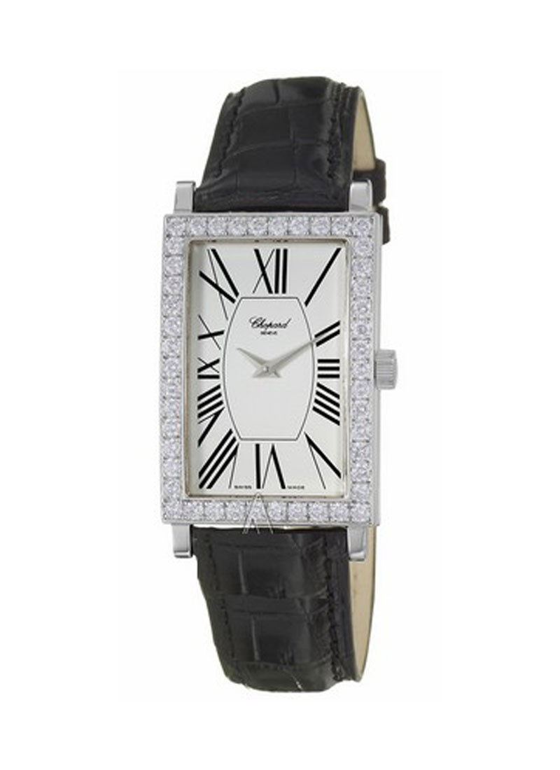Chopard Classique in White Gold with Diamond Bezel