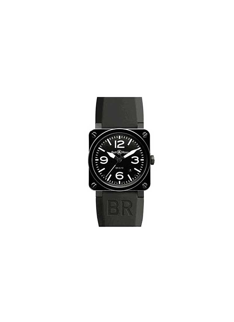 Bell & Ross BR 03-92 in Black Ceramic