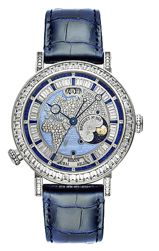 Breguet Grand Complications High Jewelry Hora Mundi   Diamonds