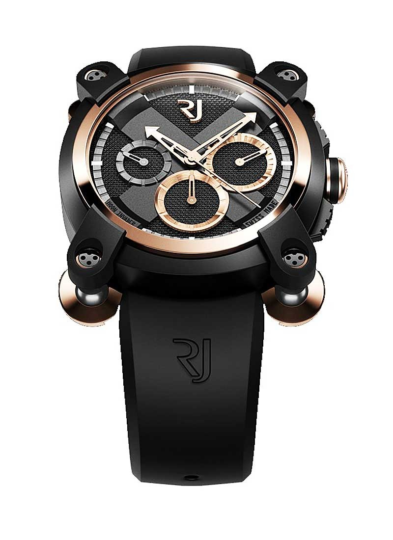 Romain Jerome Moon Invader Red Metal Chronograph in 2 Tone
