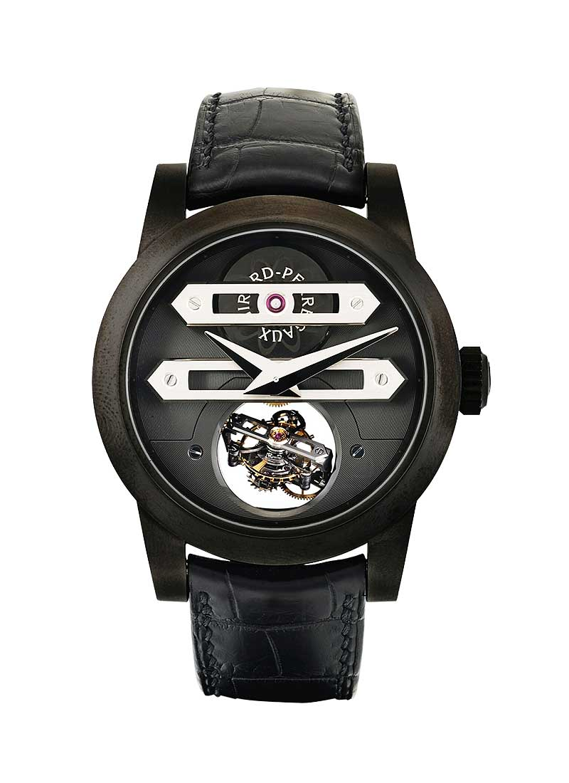 Girard Perregaux Bi-Axial Tourbillon in DLC Titanium - Limited to 8 pcs
