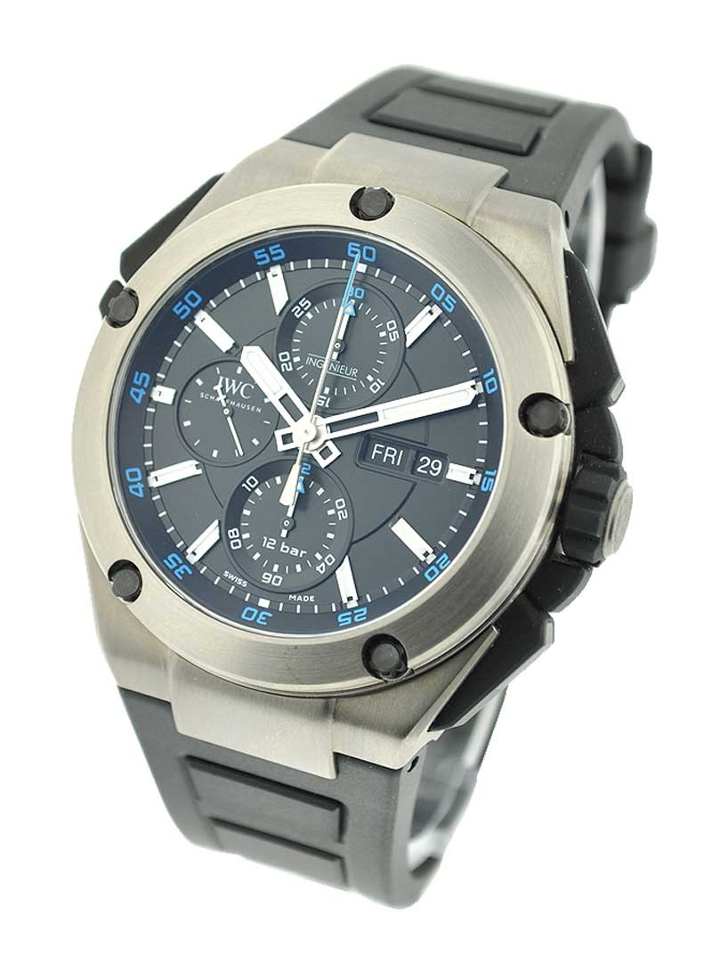 IWC Ingenieur Double Chronograph in Titanium